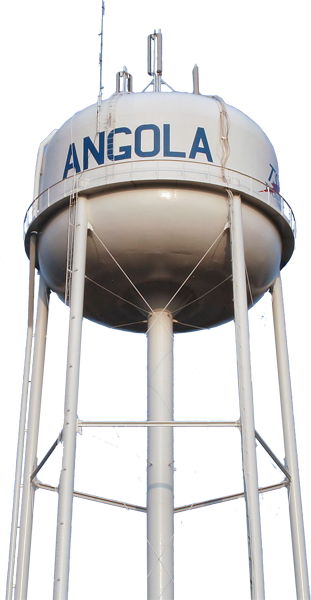 Angola Water Tower