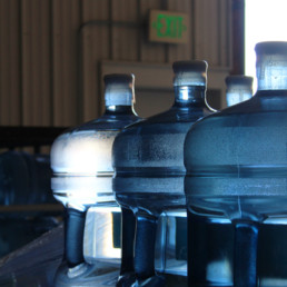 Water coolers and bottles